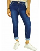 Jeans - Dark Blue Denim Jeans for women 7004