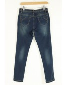 Jeans - Green Tint Denim Jeans for women 7056