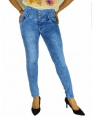 Jeans - Light Blue Denim Jeans for women 7586
