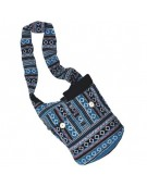 Designer Ethnic Ladies Black n Blue Shoulder Bag 141