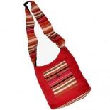 Exclusive Design Handmade Jute Maroon Shoulder Bag 144