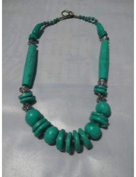 Necklace - Duplicate Firoza Stone Necklace-09