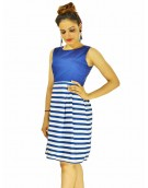 Dress - Beautiful Creta Blue for women