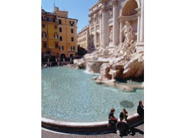 ROMANTIC CITY OF ROME, ITALY
