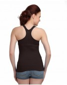 Black Racer Back Camisole