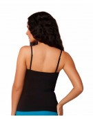 Black Multiway Strap With Free Transparent Strap Camisole