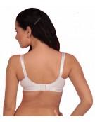 BRA - Women's Cotton Perfecto Non-Padded Non-Wired Regular Bra - WHITE