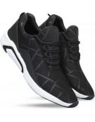 Shoe - Brisk Mesh Running Shoes ,Cricket Shoes , Badminton Shoes , Volley Ball Shoes , Sports Shoes For Men And Boys? Running Shoes For Men Canvas Shoes For Men (Black)