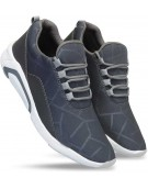 Shoe - Brisk Mesh Running Shoes ,Cricket Shoes , Badminton Shoes , Volley Ball Shoes , Sports Shoes For Men And Boys? Running Shoes For Men Canvas Shoes For Men (Grey)