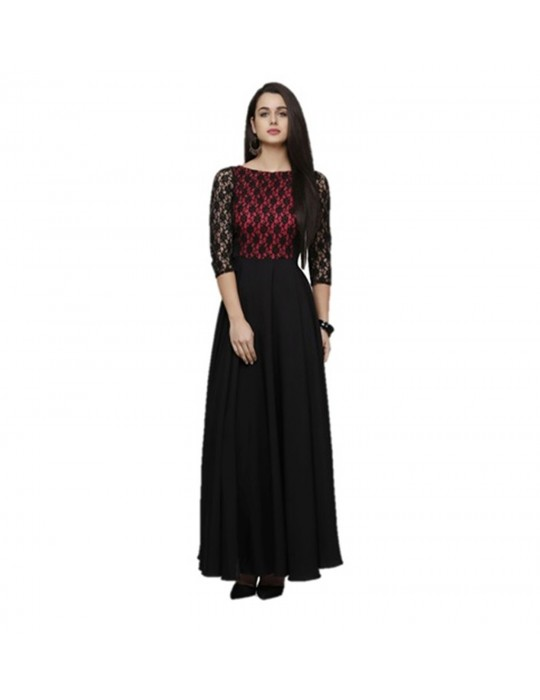 Gown for Women in colour Audi Maroon