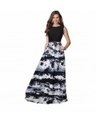 Gown for Women in colour Jeny Black