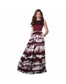 Gown for Women in colour Jeny Maroon