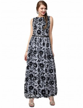 Gown for Women in colour Cooper Black