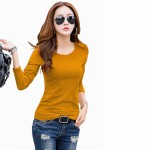 Top for Women in colour Yellow