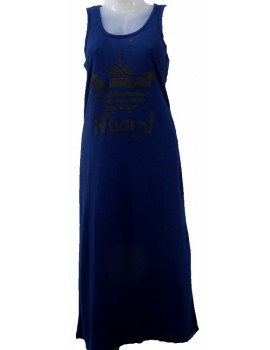 Women's Maxi Dress - Blue