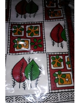 Double Bed Sheet with two pillow covers - Handloom 01