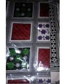 Double Bed Sheet with two pillow covers - Handloom 06