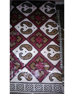 Double Bed Sheet with two pillow covers - Handloom 09