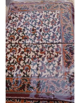 Double Bed Sheet with two pillow covers - Handloom 16