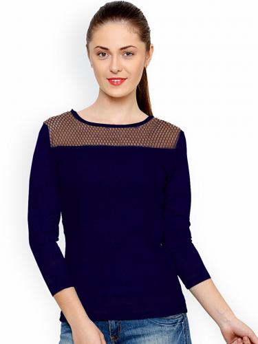 Top for Women in colour Blue