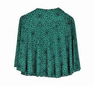 New Beautiful Teffeta silk Green color Mini Skirt for women