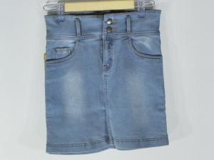 New Beautiful and Stylish Light Blue Color Denim Skirt for women