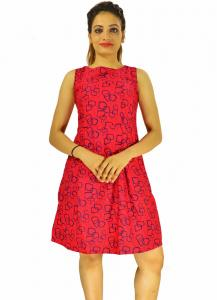 New Zinniabloom Designer Western Mentos Gajri color Heavy American Crepe fabric Dress