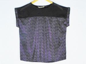 Top -  Designer Chinese Printed Black Top For Women