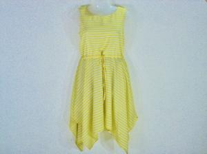 Top -  Designer Cherry Ska Yellow Top For Women