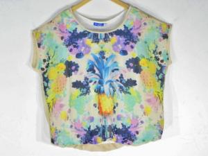 Top -  Designer Fruit Salad Mixed Color Top For Women