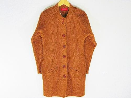 Winterwear - New Stylish Hot Woolen Brown Color Cardigan For Women - L Size