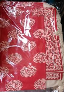 Double Bed Sheet with two pillow covers - Handloom 10