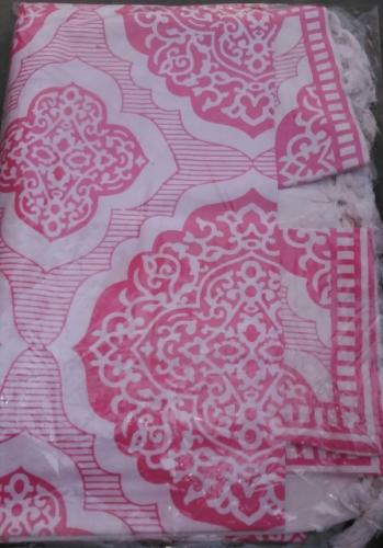 Double Bed Sheet with two pillow covers - Handloom 32